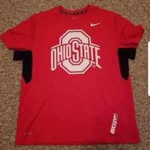 Nike Ohio state sideline shirt